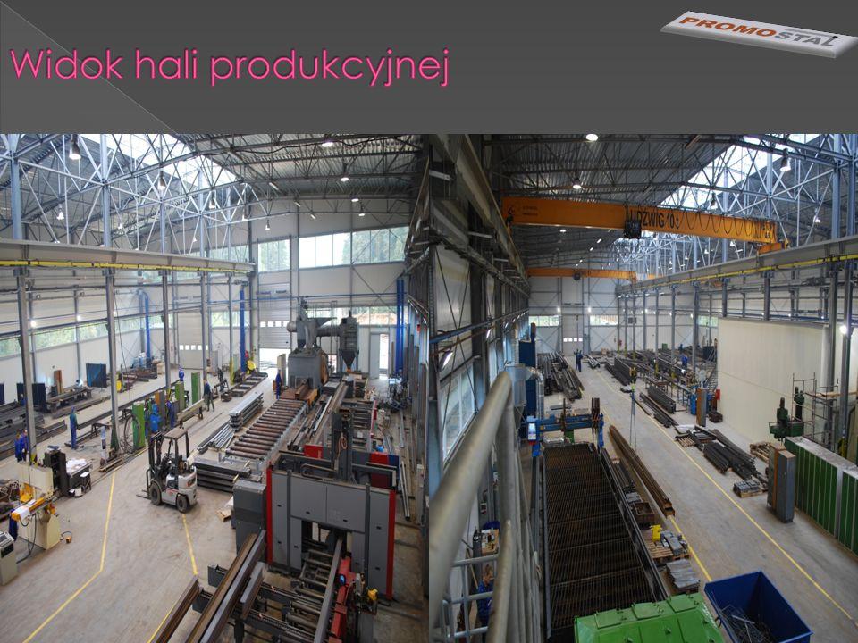 Widok hali produkcyjnej
