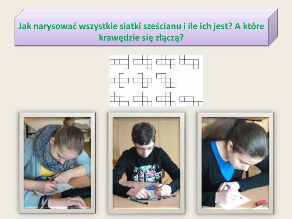 Jak narysować wszystkie siatki sześcianu i ile ich jest