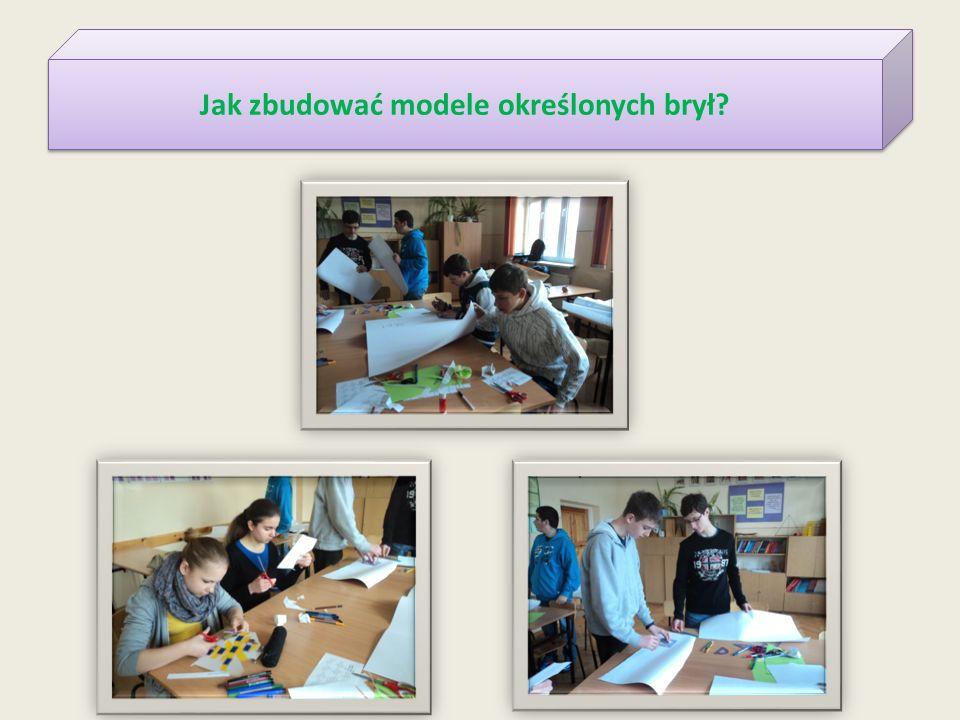 Jak zbudować modele określonych brył