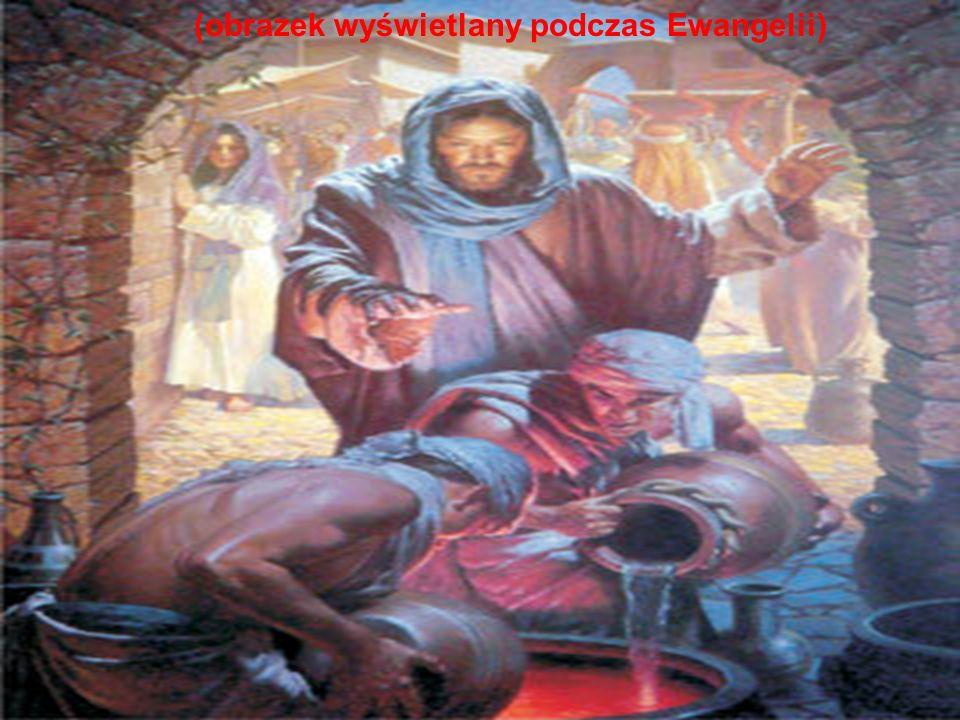 (obrazek wyświetlany podczas Ewangelii)