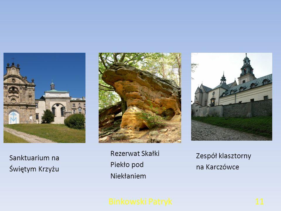 Binkowski Patryk Rezerwat Skałki Zespół klasztorny Sanktuarium na