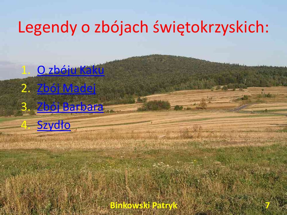Legendy o zbójach świętokrzyskich: