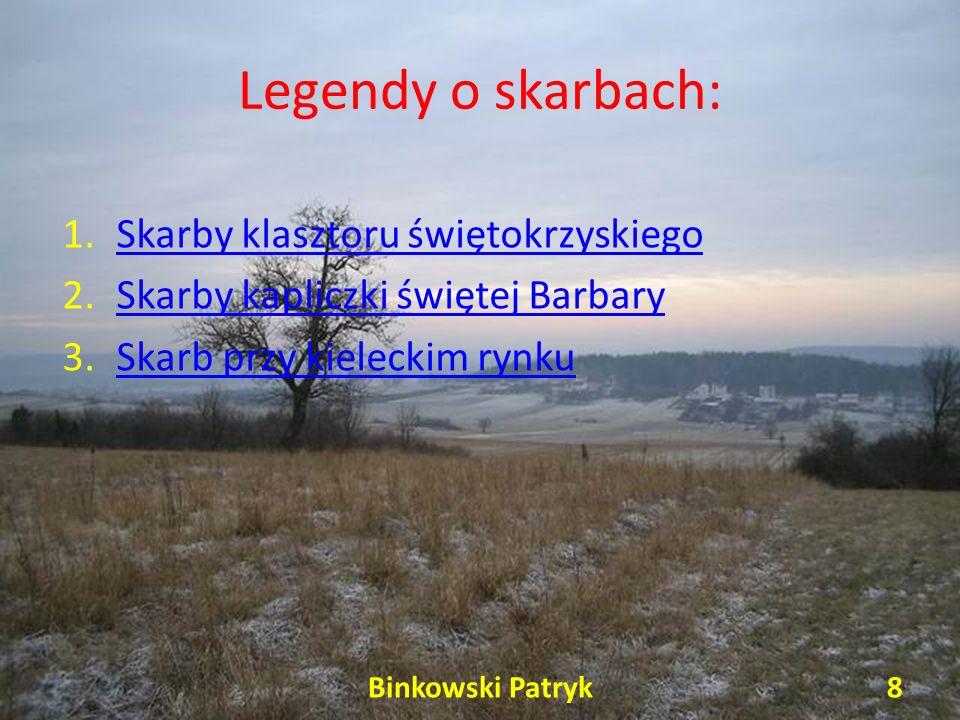 Legendy o skarbach: Skarby klasztoru świętokrzyskiego