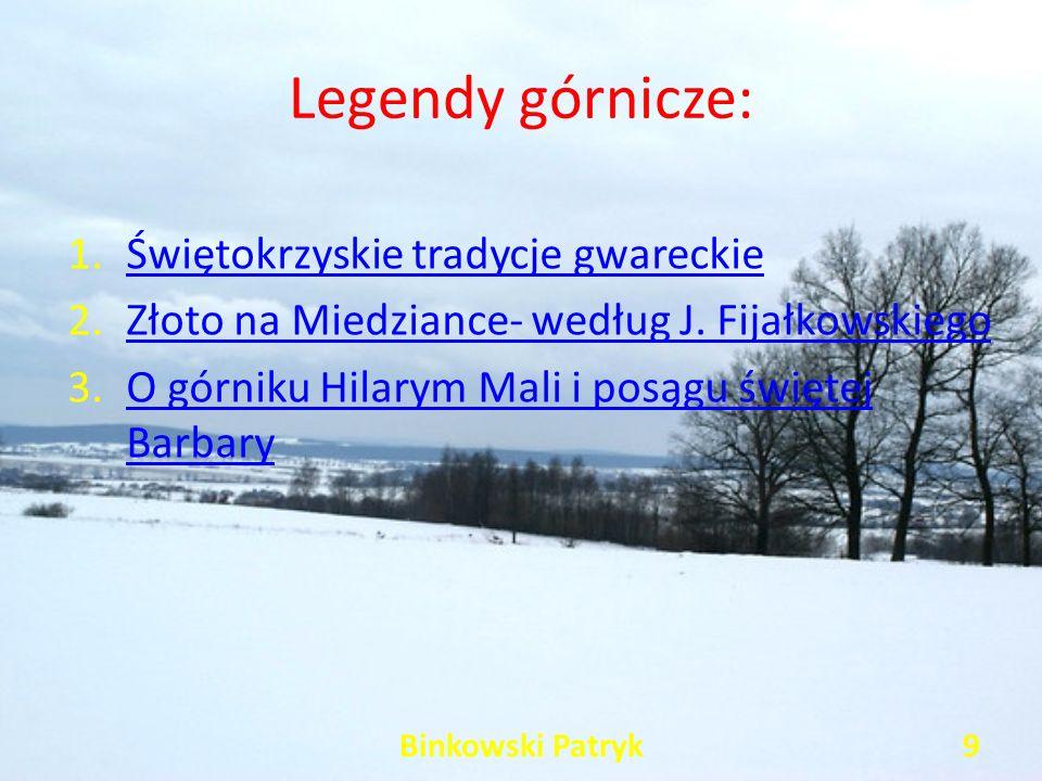 Legendy górnicze: Świętokrzyskie tradycje gwareckie