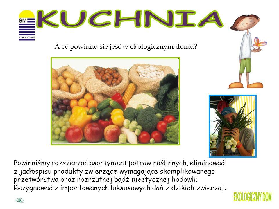 KUCHNIA EKOLOGICZNY DOM A co powinno się jeść w ekologicznym domu