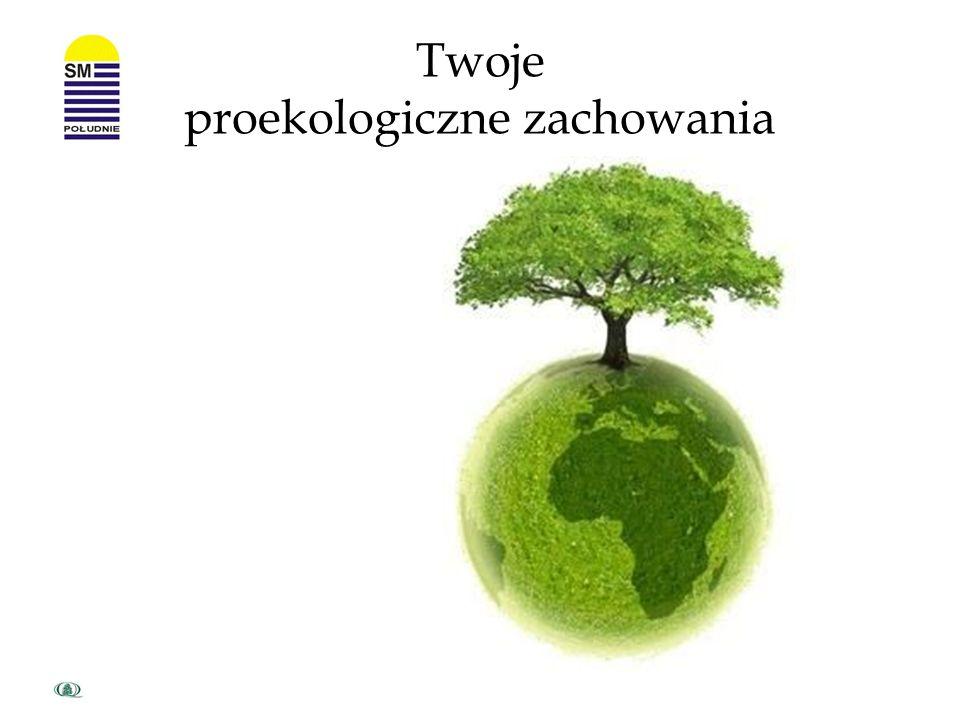 Twoje proekologiczne zachowania