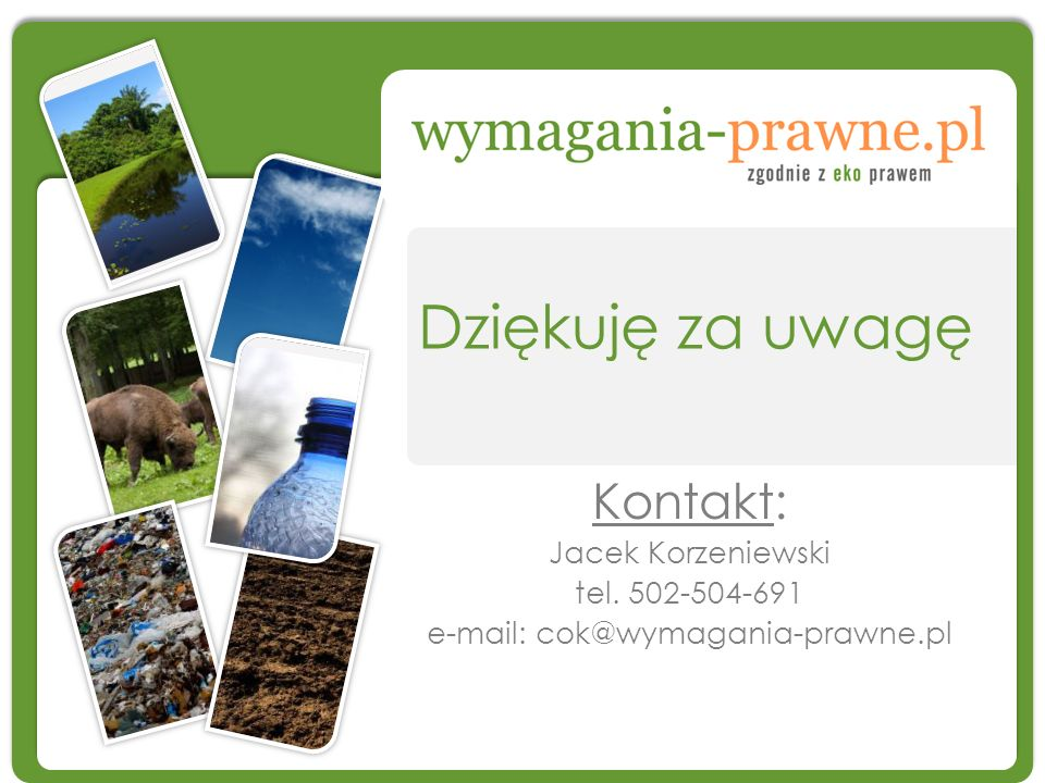 e-mail: cok@wymagania-prawne.pl