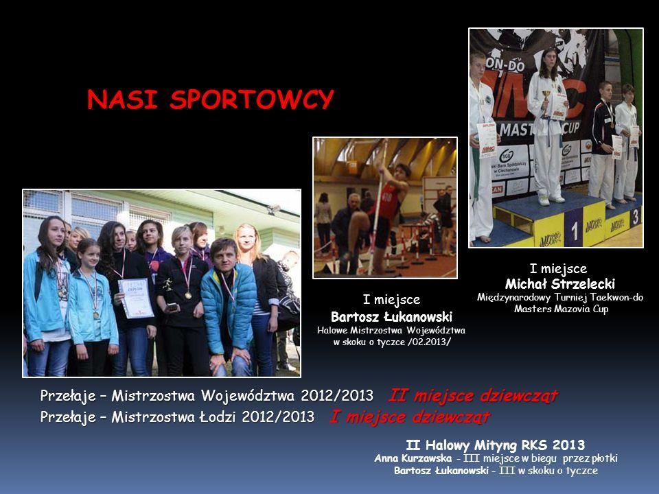 NASI SPORTOWCY I miejsce. Michał Strzelecki. Międzynarodowy Turniej Taekwon-do. Masters Mazovia Cup.