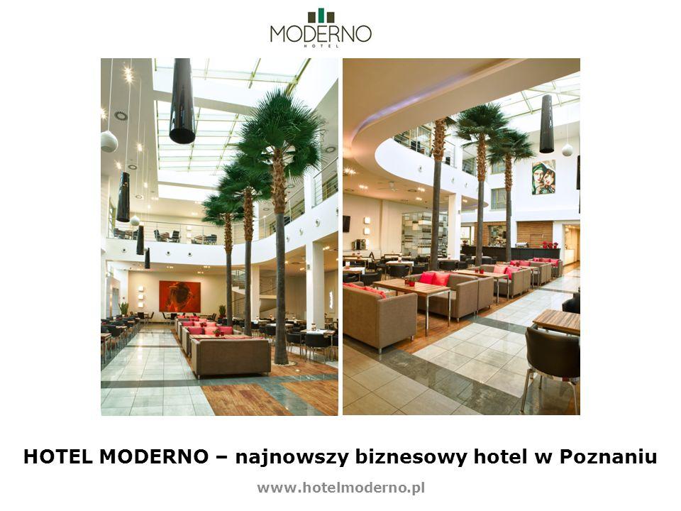 HOTEL MODERNO – najnowszy biznesowy hotel w Poznaniu
