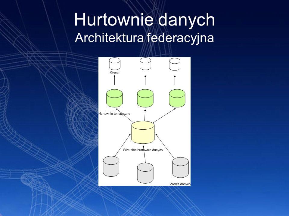 Hurtownie danych Architektura federacyjna
