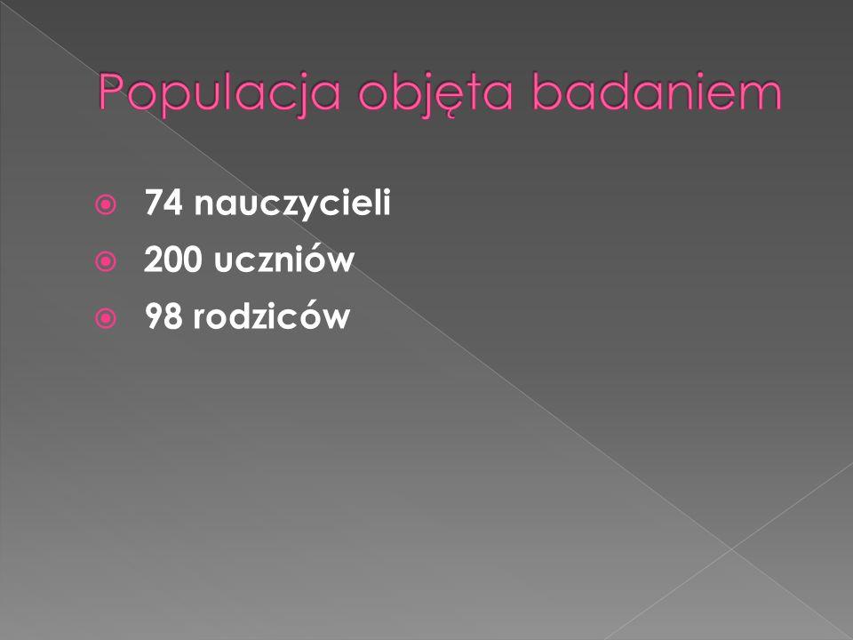 Populacja objęta badaniem