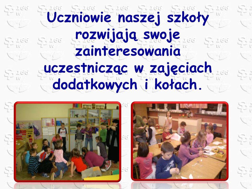 Uczniowie naszej szkoły rozwijają swoje zainteresowania