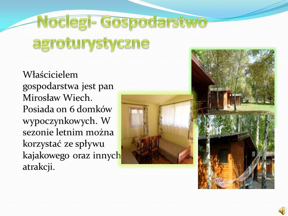 Noclegi- Gospodarstwo agroturystyczne