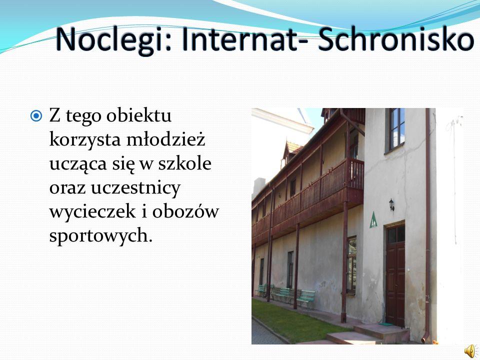 Noclegi: Internat- Schronisko
