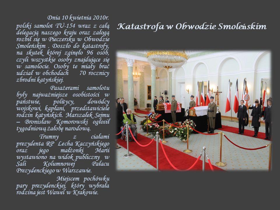 Katastrofa w Obwodzie Smoleńskim