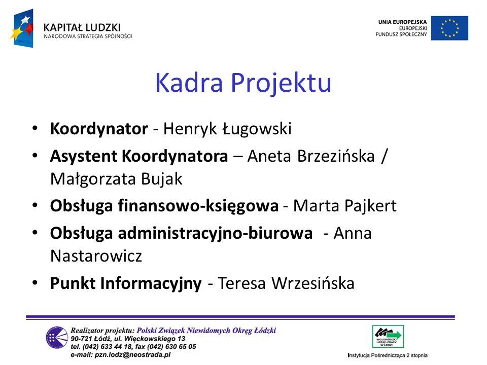 Kadra Projektu Koordynator - Henryk Ługowski