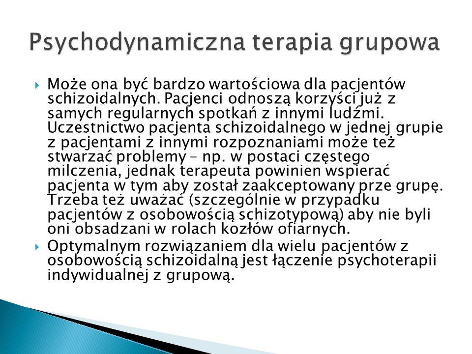 Psychodynamiczna terapia grupowa