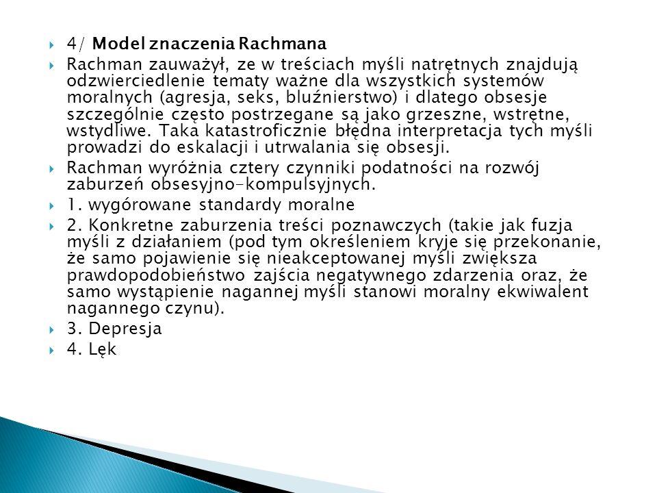 4/ Model znaczenia Rachmana