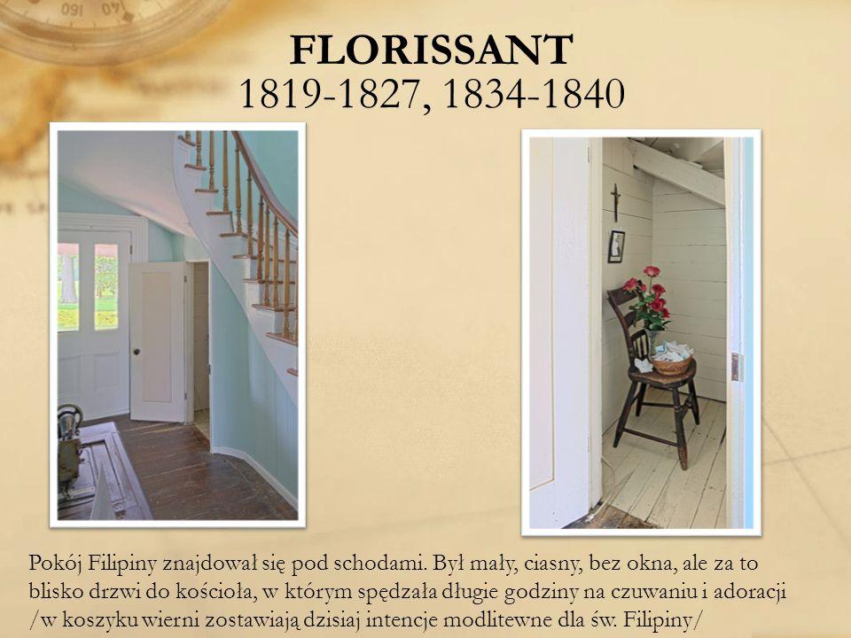 FLORISSANT 1819-1827, 1834-1840
