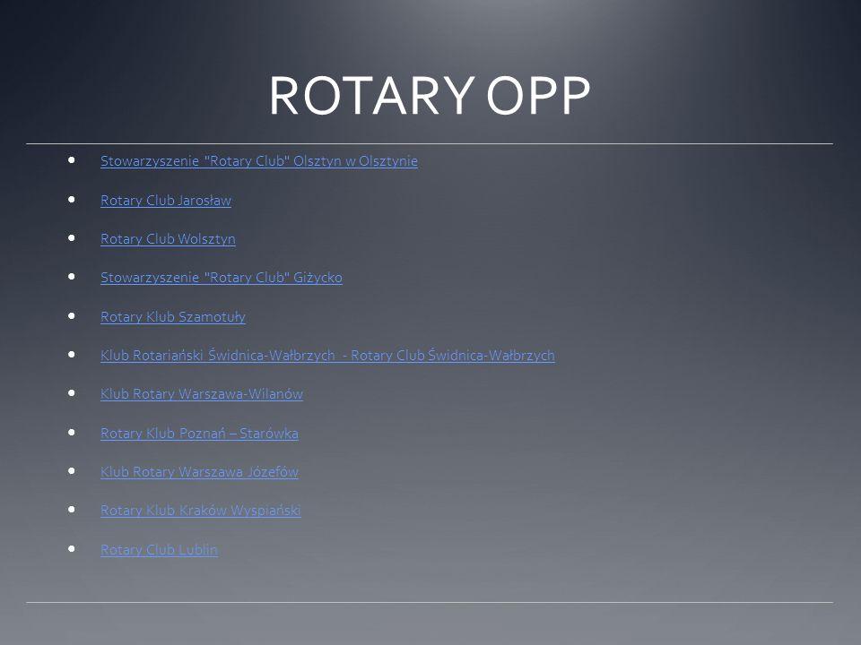 ROTARY OPP Stowarzyszenie Rotary Club Olsztyn w Olsztynie