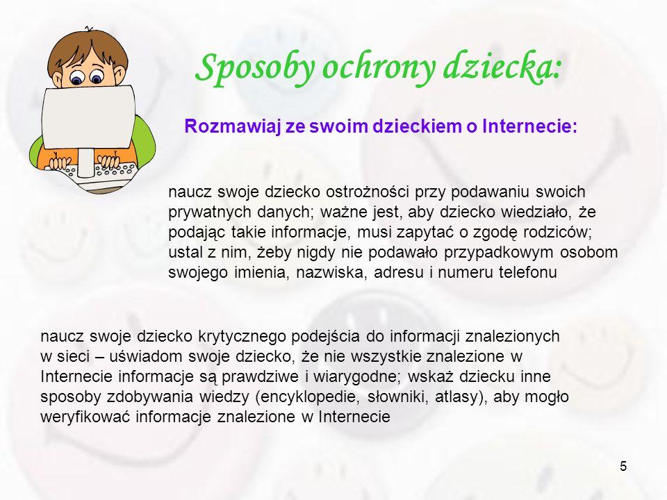 Sposoby ochrony dziecka: Rozmawiaj ze swoim dzieckiem o Internecie: