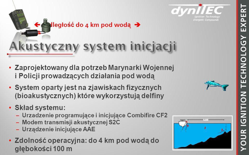 Akustyczny system inicjacji