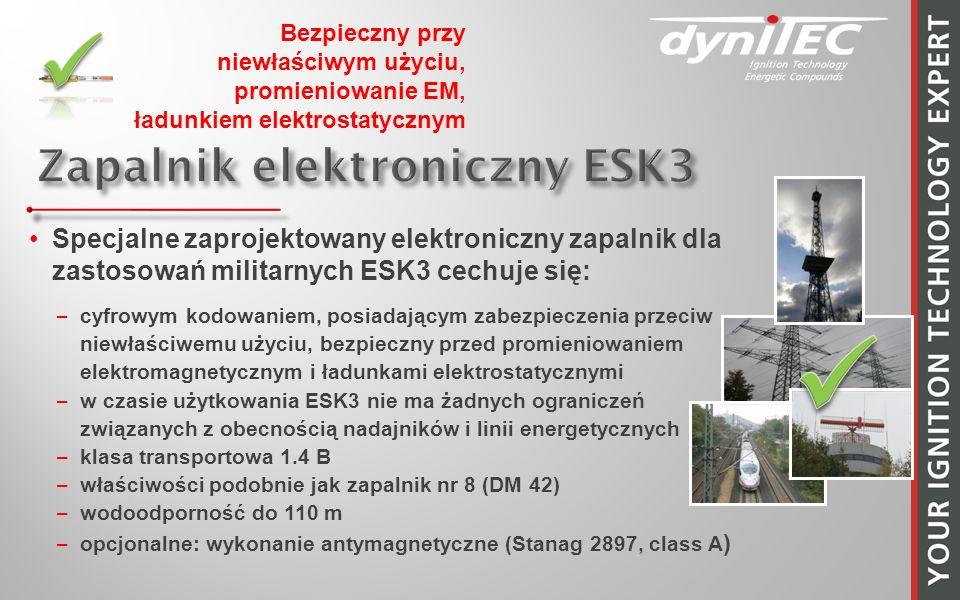 Zapalnik elektroniczny ESK3