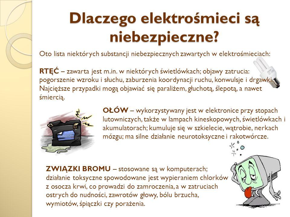 Dlaczego elektrośmieci są niebezpieczne