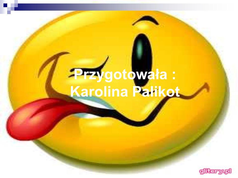 Przygotowała : Karolina Palikot