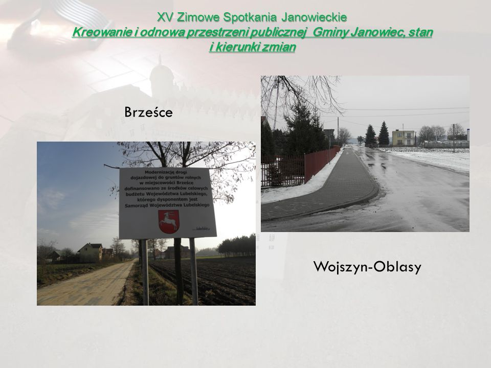Brześce Wojszyn-Oblasy