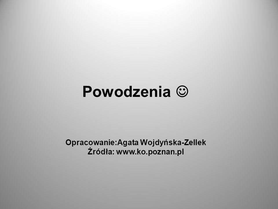 Opracowanie:Agata Wojdyńska-Zellek Źródła: www.ko.poznan.pl