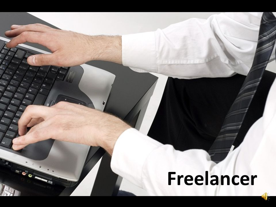 Sposób drugi: freelancer. Super: sam sobie sterem, żeglarzem, okrętem