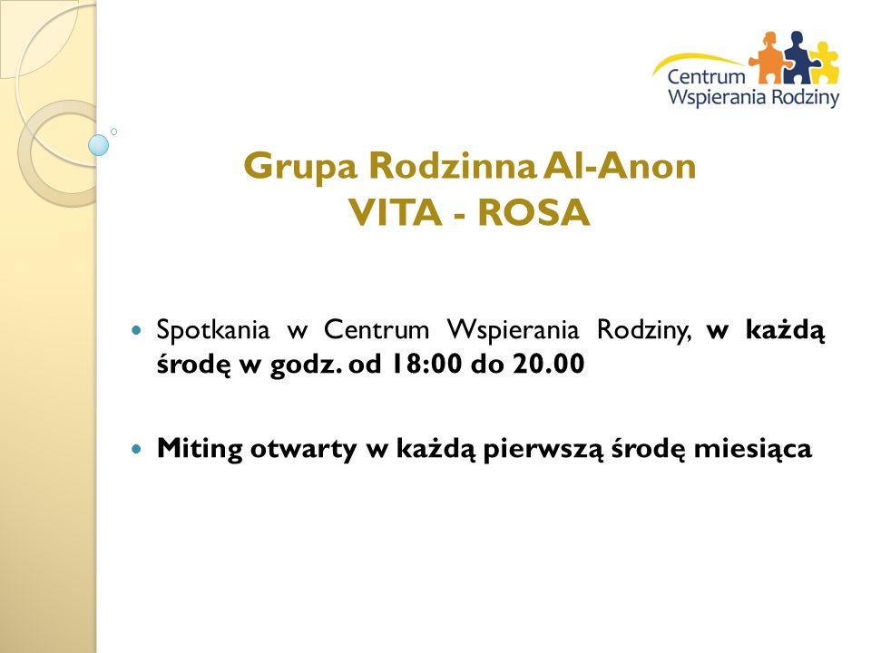Grupa Rodzinna Al-Anon VITA - ROSA