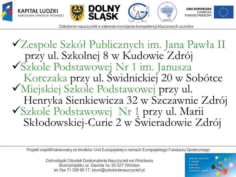 Zespole Szkół Publicznych im. Jana Pawła II