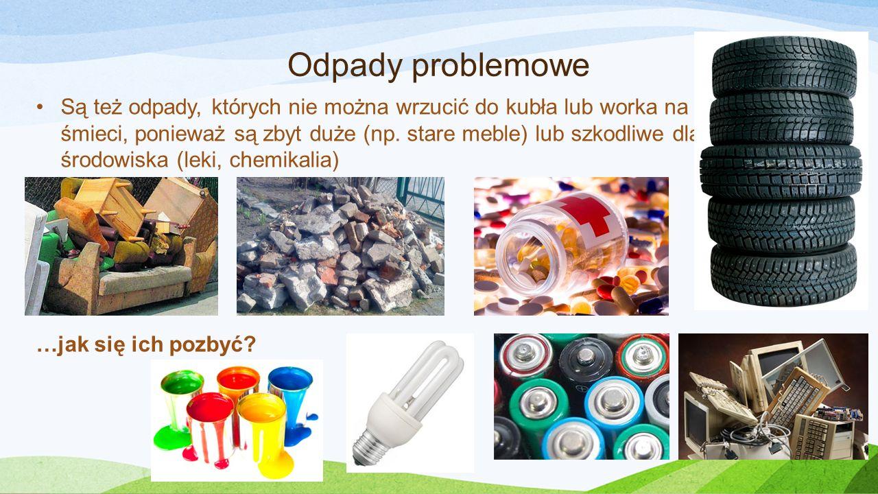 Odpady problemowe