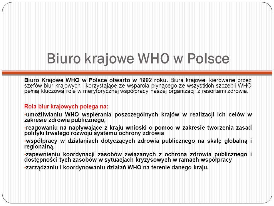 Biuro krajowe WHO w Polsce