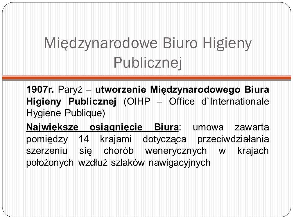 Międzynarodowe Biuro Higieny Publicznej