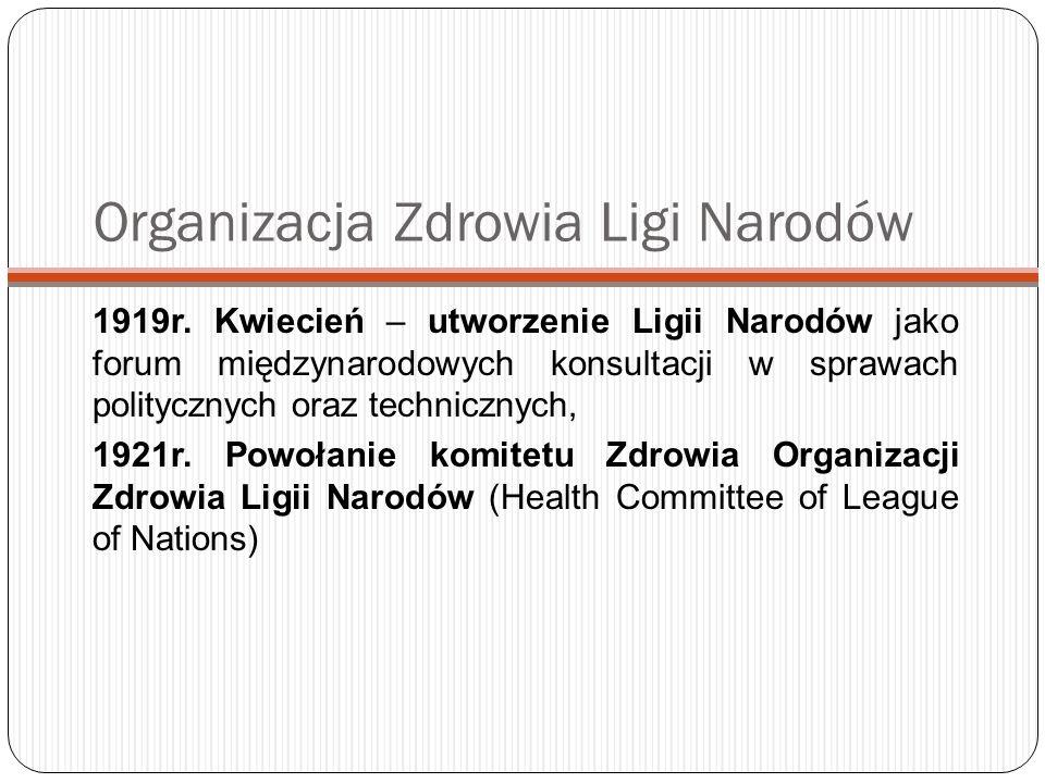 Organizacja Zdrowia Ligi Narodów
