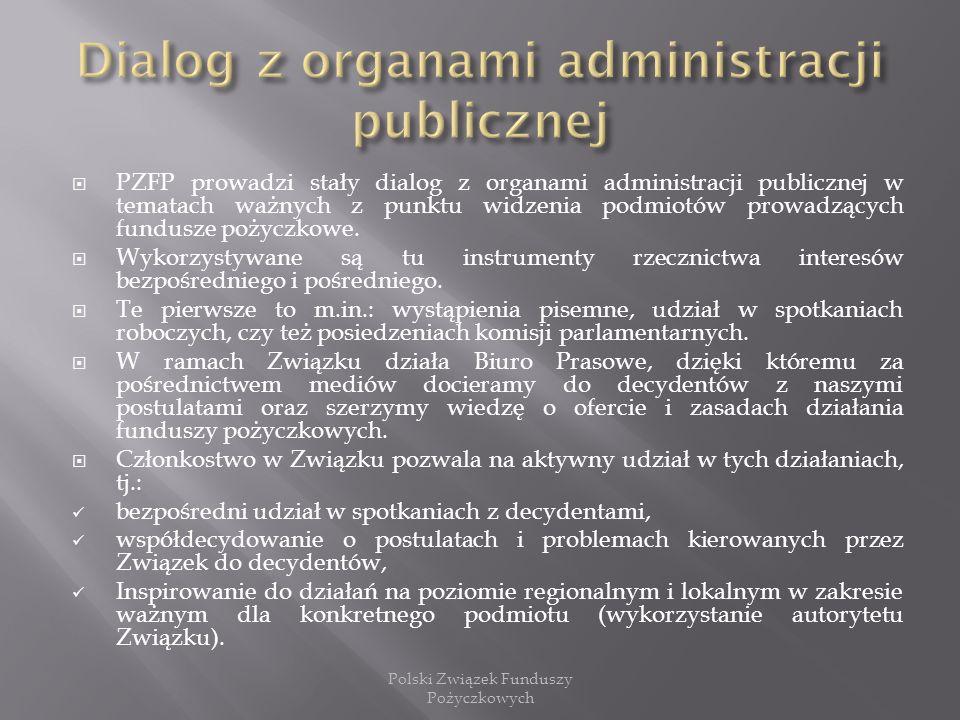 Dialog z organami administracji publicznej