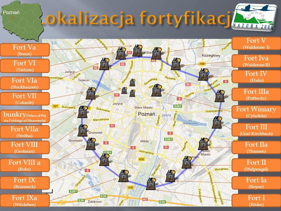 Lokalizacja fortyfikacji