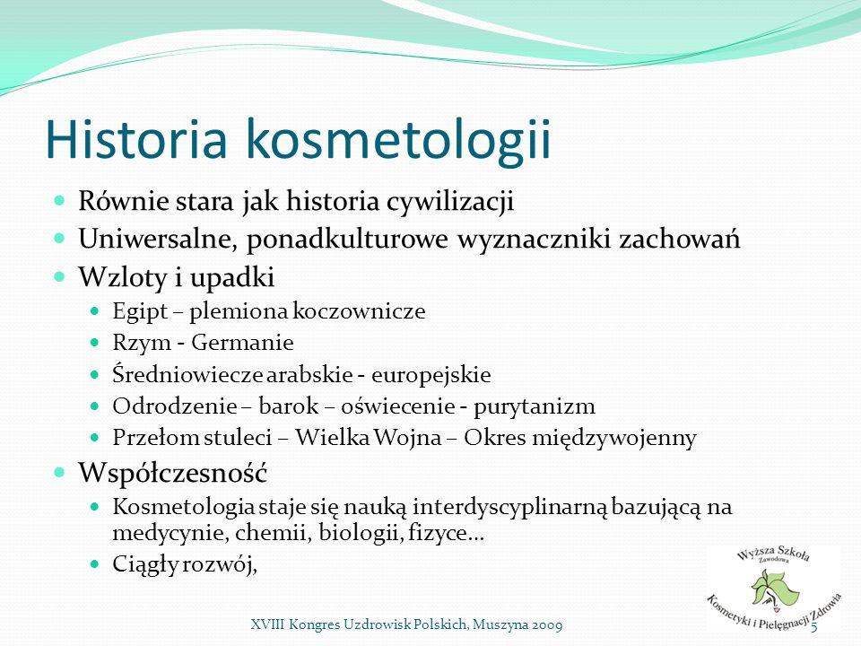 Historia kosmetologii