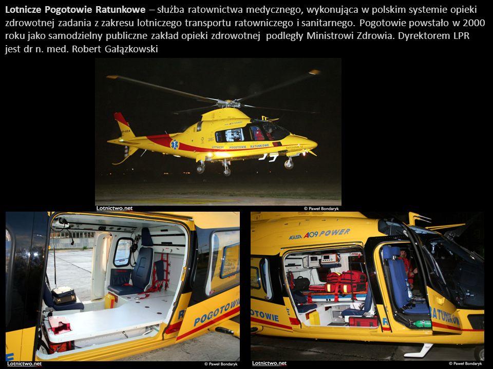 Lotnicze Pogotowie Ratunkowe – służba ratownictwa medycznego, wykonująca w polskim systemie opieki zdrowotnej zadania z zakresu lotniczego transportu ratowniczego i sanitarnego.
