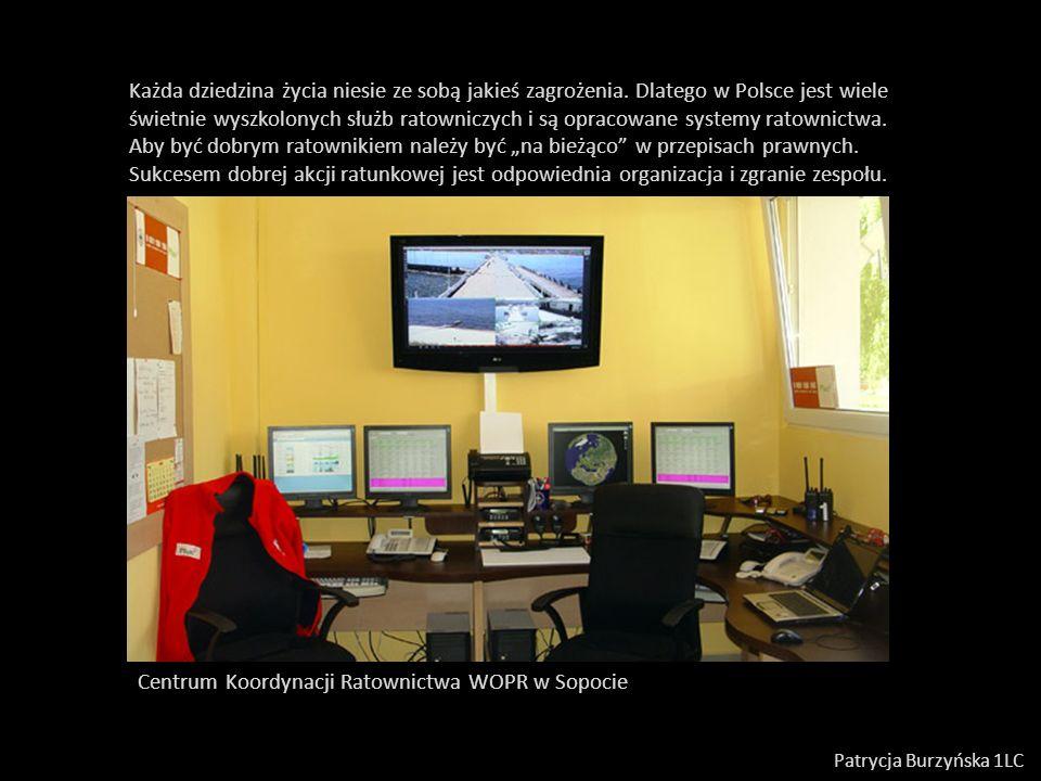 Centrum Koordynacji Ratownictwa WOPR w Sopocie