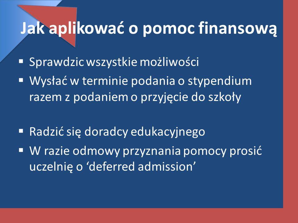 Jak aplikować o pomoc finansową