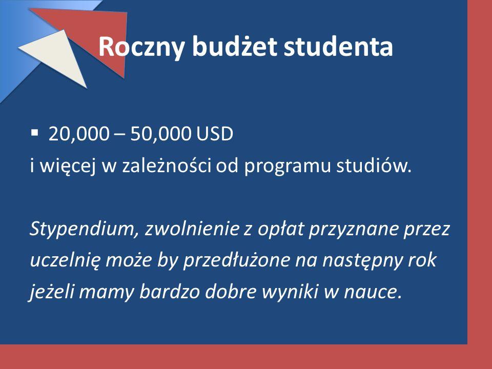 Roczny budżet studenta