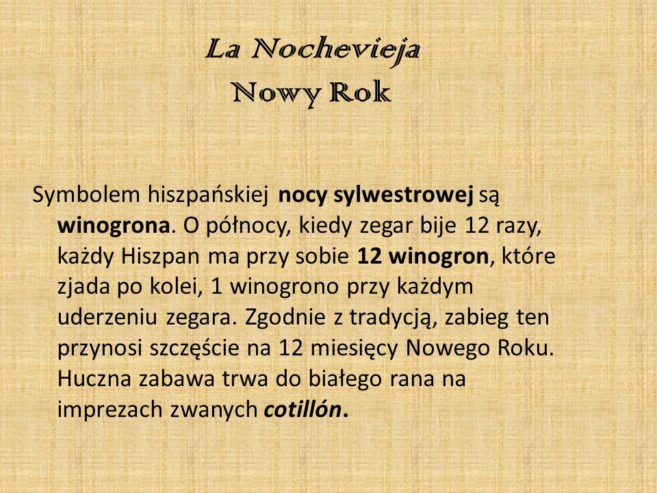 La Nochevieja Nowy Rok