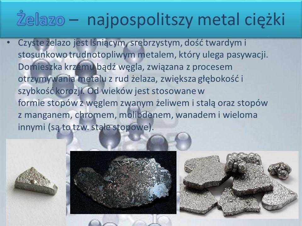 Żelazo – najpospolitszy metal ciężki