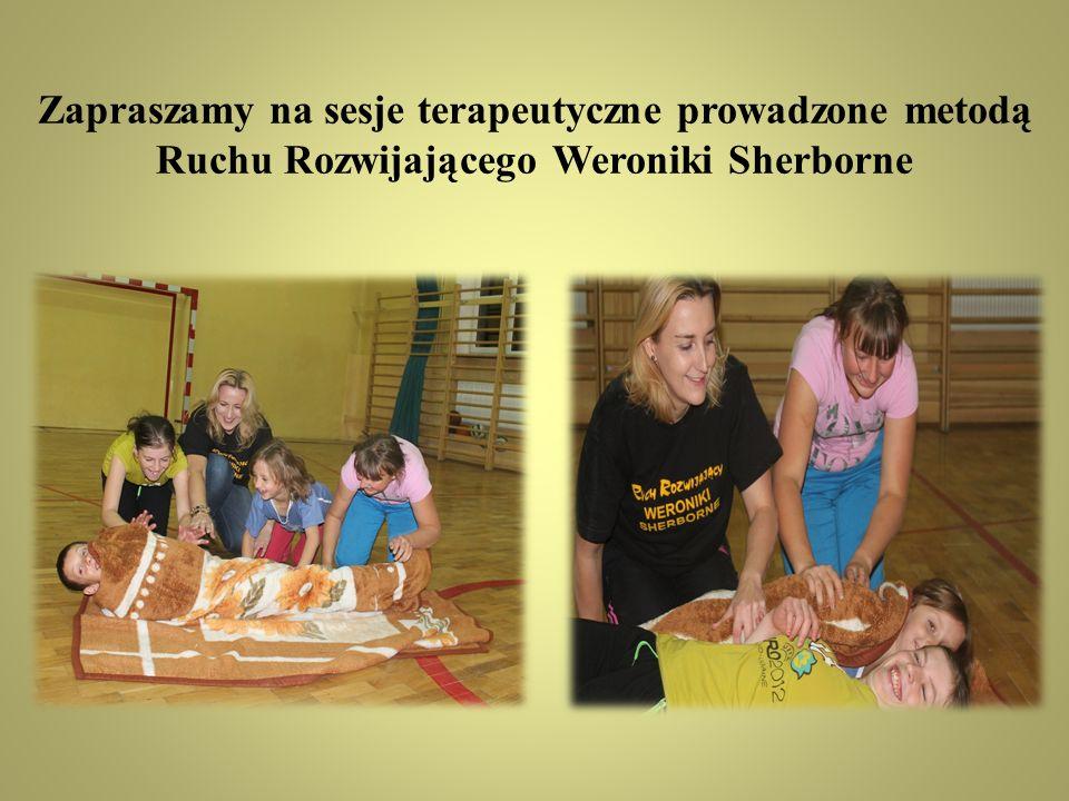 Zapraszamy na sesje terapeutyczne prowadzone metodą Ruchu Rozwijającego Weroniki Sherborne