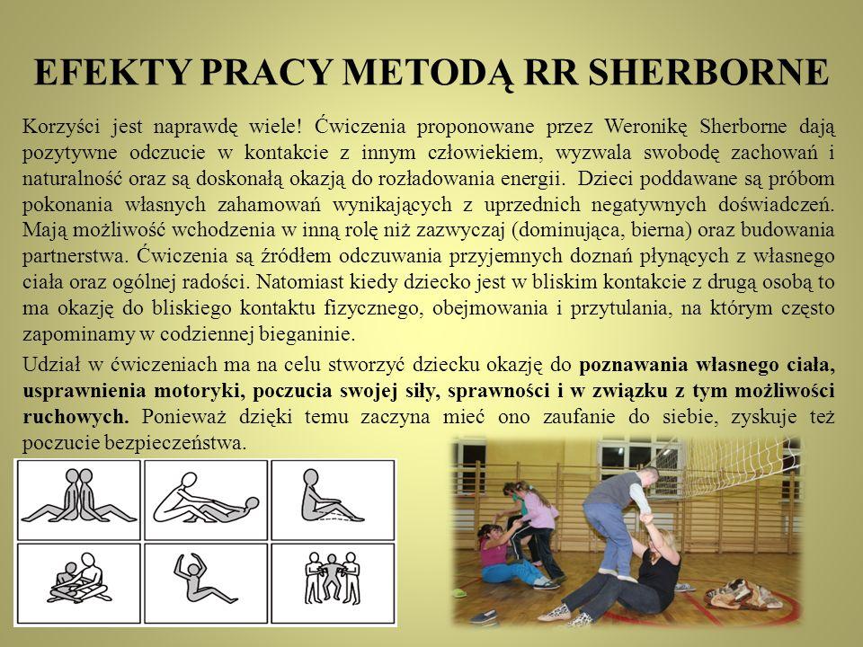 EFEKTY PRACY METODĄ RR SHERBORNE
