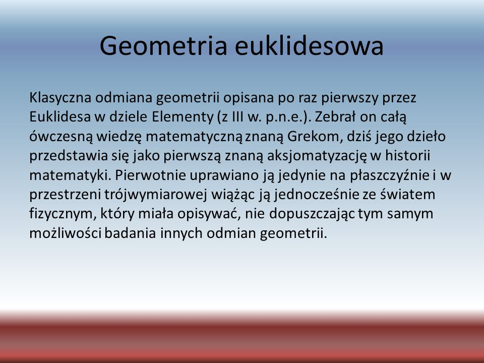 Geometria euklidesowa